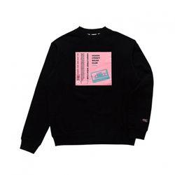 비젼스트릿웨어 스웨트 티셔츠 VISW304UN BLACK