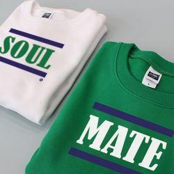 젤란 커플맨투맨  SOUL MATE (2색)