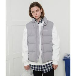 [L] Recycle vest-gray(덕다운)