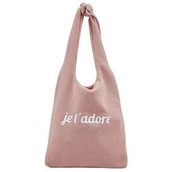 Pink  Neat Shoulder Bag (S2SD0417CLP)