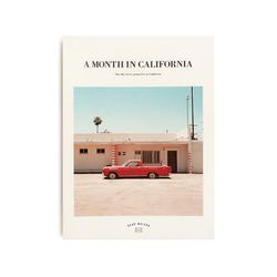 [오리지널] A MONTH IN CALIFORNIA 다이어리 ver.7