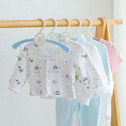 늘어나는 사이즈조절 유아 아동용 옷걸이