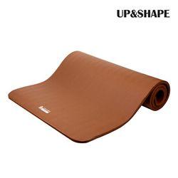 UP&SHAPE 업앤쉐이프 NBR 와이드 요가매트 16mm