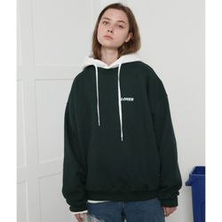 [L] Loner basic sweatshirt-dark green(기모)