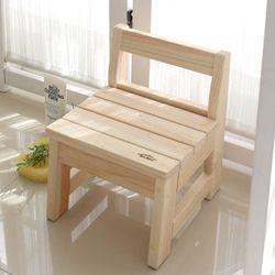 히노끼 욕실의자(등받이형)