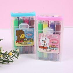 [JY]12색도장싸인펜