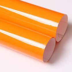 유광 칼라시트지 -외부.내부.광고용 (3301) 감귤색