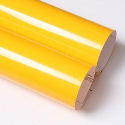 유광 칼라시트지 -외부.내부.광고용 (3303) Yellow