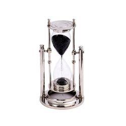 [ATELIER] TK 브라스 5분 모래시계 (니켈)