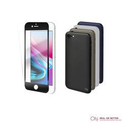 [세트] 아이폰8용3D 풀커버강화유리+스킨핏케이스