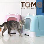 [1300K ~12/31까지] 토모 후드형 고양이 화장실
