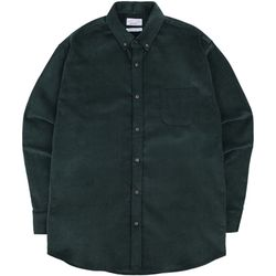 S.OVERSIZED CORDUROY 16W SHIRTS GREEN