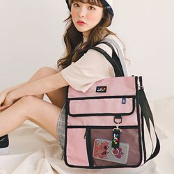 Chips cross bag (Pink)