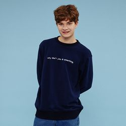 [L]WHY DONT YOU SWEATSHIRTS-NAVY 맨투맨