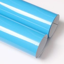 유광 칼라시트지 -외부.내부.광고용(3502)Light Blue