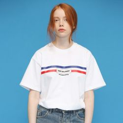 [L]FAST DELIVERY TEE-white