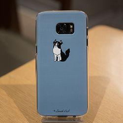 [ZenithCraft] 아이폰5 댕댕이 보더콜리 젤리 케이스