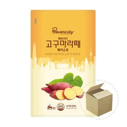 세미 고구마라떼 페이스트 1kg 1박스(10개)