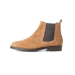 AMERICAN COW SUEDE CHELSEA BOOTS(CAMEL)