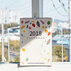2018 BBH 벽걸이 캘린더