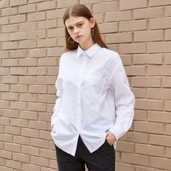 COMPACT OVERFIT COTTON SHIRTS (WHITE)