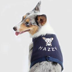 custom easy harness (navy)