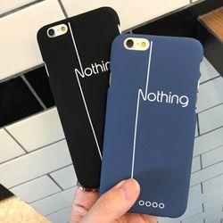 Nothing 커플 하드 케이스 애플4기종