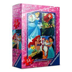 54pcs 디즈니 프린세스 시리즈1 퍼즐(09492 7)