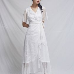 [CLAIR DE LUNE] BIJOU LACE DRESS