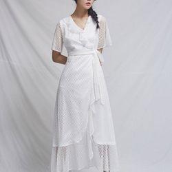 [CLAIR DE LUNE] BIJOU LACE DRESS