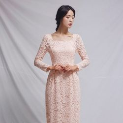 [CLAIR DE LUNE] TIFFANY DRESS PINK