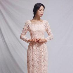 [CLAIR DE LUNE] TIFFANY DRESS PINK