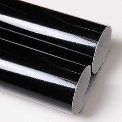 유광 칼라시트지 -외부.내부.광고용 (3800) 흑색