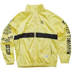 BSRABBIT Crush track jacket fluorescence