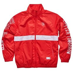 BSRABBIT Crush track jacket RED