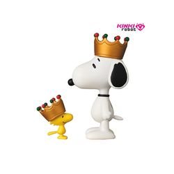 1711004 PEANUTS SERIES6 CROWN SNOOPY & WOOD STOCK