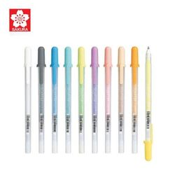 사쿠라 수프레 0.8mm 10칼라 펜