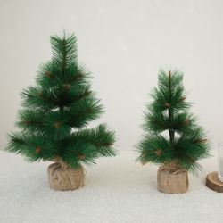 크리스마스 솔나무 무장식 미니트리 (40cm)