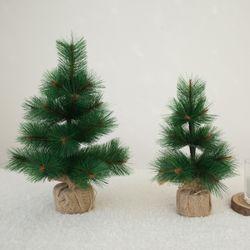 크리스마스 솔나무 무장식 미니트리 (30cm)