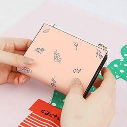 [예약판매 2/26 발송] 누디네이쳐 쏙지갑 여자 반지갑 (LSB1711ZSW001)