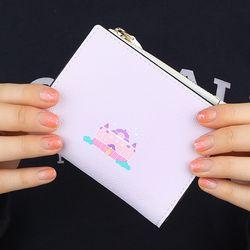 [예약판매 2/26 발송] 달빛 궁전 - 퍼플 쏙지갑 반지갑 (LSB1711ZSW009)