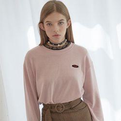 Logo Loose fit T-Shirt (Baby Pink)