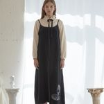 Venus Stitch Dress (Black)