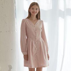 90s Pink Check Dress