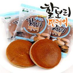 찰보리 아이스 팬케익 20개입  벌크포장  찰보리빵