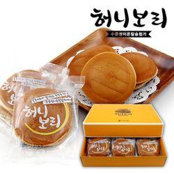 허니보리 선물세트15개입  박스포장  찰보리빵