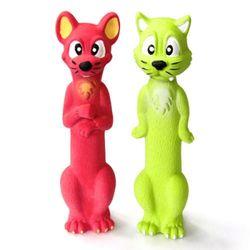 펫모닝 라텍스토이 고양이&쥐1p[pmd-175]