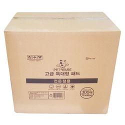 펫케어 고급 특대형 패드 300매