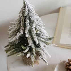 화이트 크리스마스 스노우 트리(대)