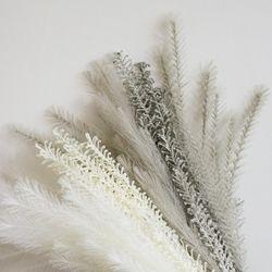 깃털 팜파스 부쉬(조화)